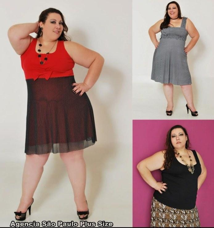 Linda Modelo Plus Size